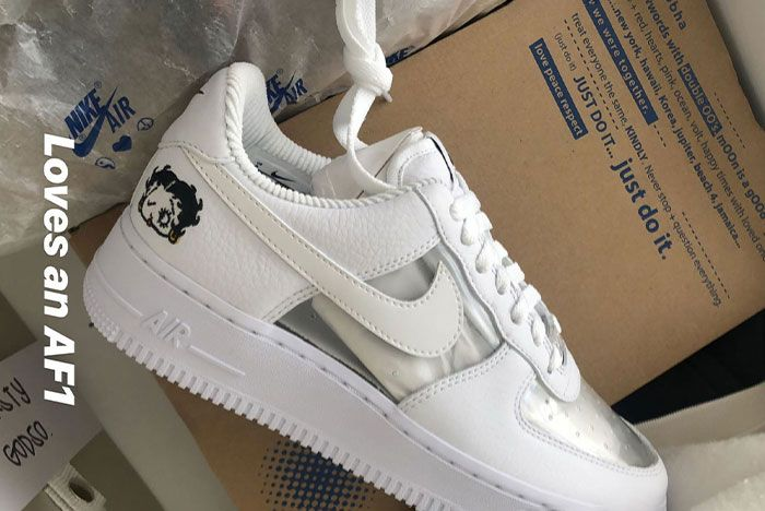 air force 1 pour femme reveal