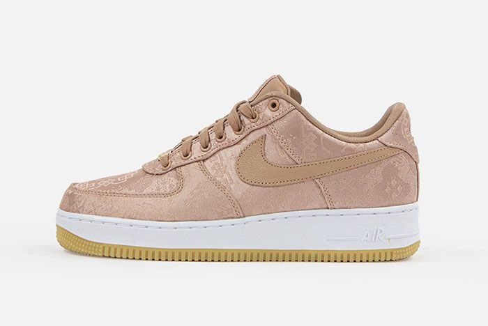 Clot Nike Air Force 1 Rose Gold Lateral
