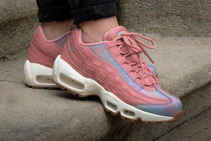 Nike Air Max 95 Womens Red Stardust