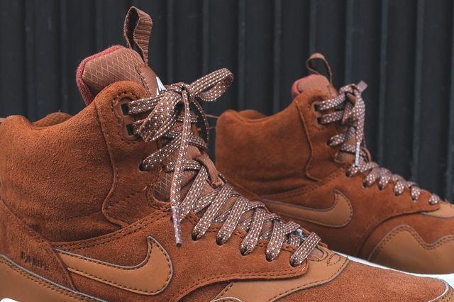 Nike Air Max 1 Mid Sneakerboot Tawny 2