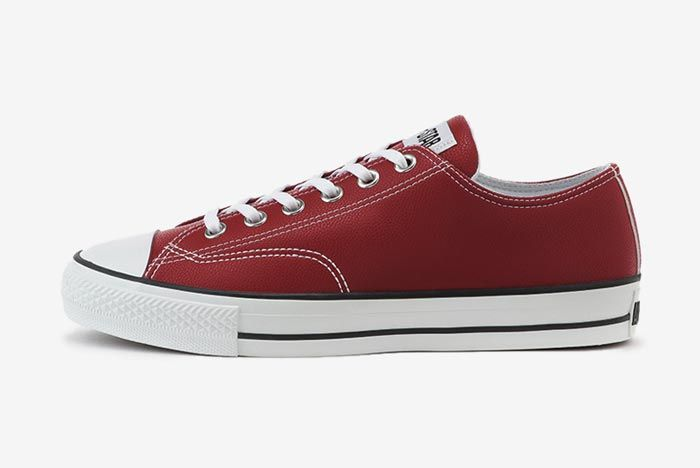 Converse All Star Low Golf Red Lateral