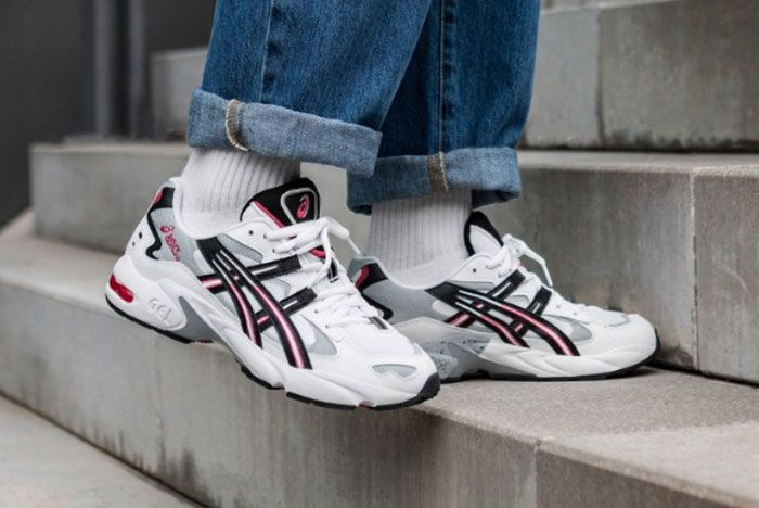 Asics Gel Kayano 5 White Right