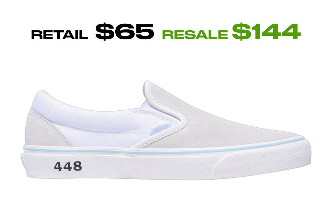 Stockx Resale Sweet Chic Vans Slip On Right Side Shot