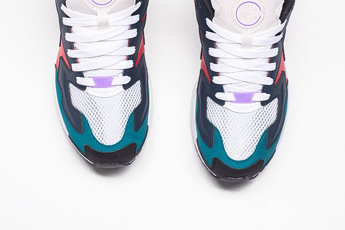 Nike Air Max2 Light Sp Habanero Red Armory Navy Radiant Emerald Bv1359 600 Release Date Toe