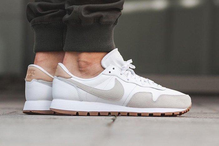 Nike Air Pegasus 83 Premium White Grey 1
