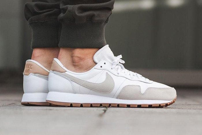 Nike Air Pegasus 83 Premium White Grey 1