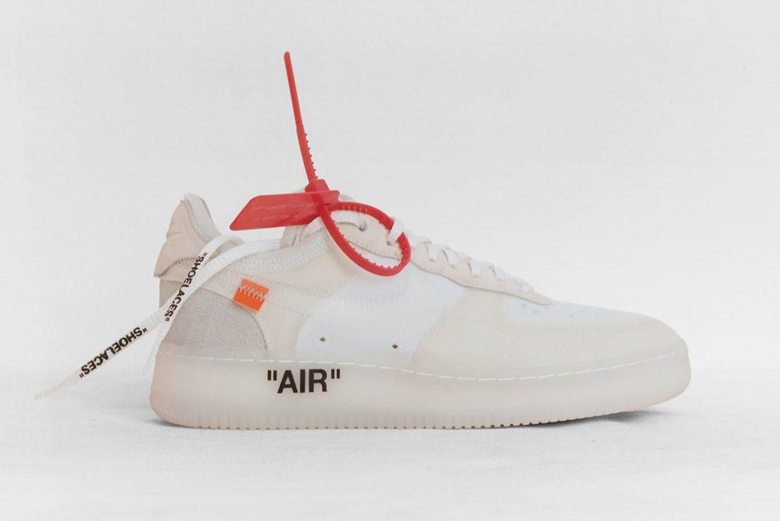 Off White X Nike Top Ten Project 11
