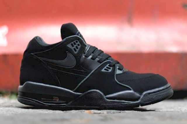 Nike Air Flight 89 Triple Black 4