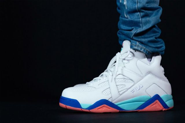 Pink Dolphin X Fila The Cage 1