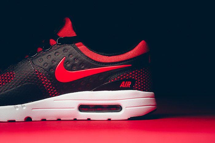 Nike Air Max Zero Black Red 6