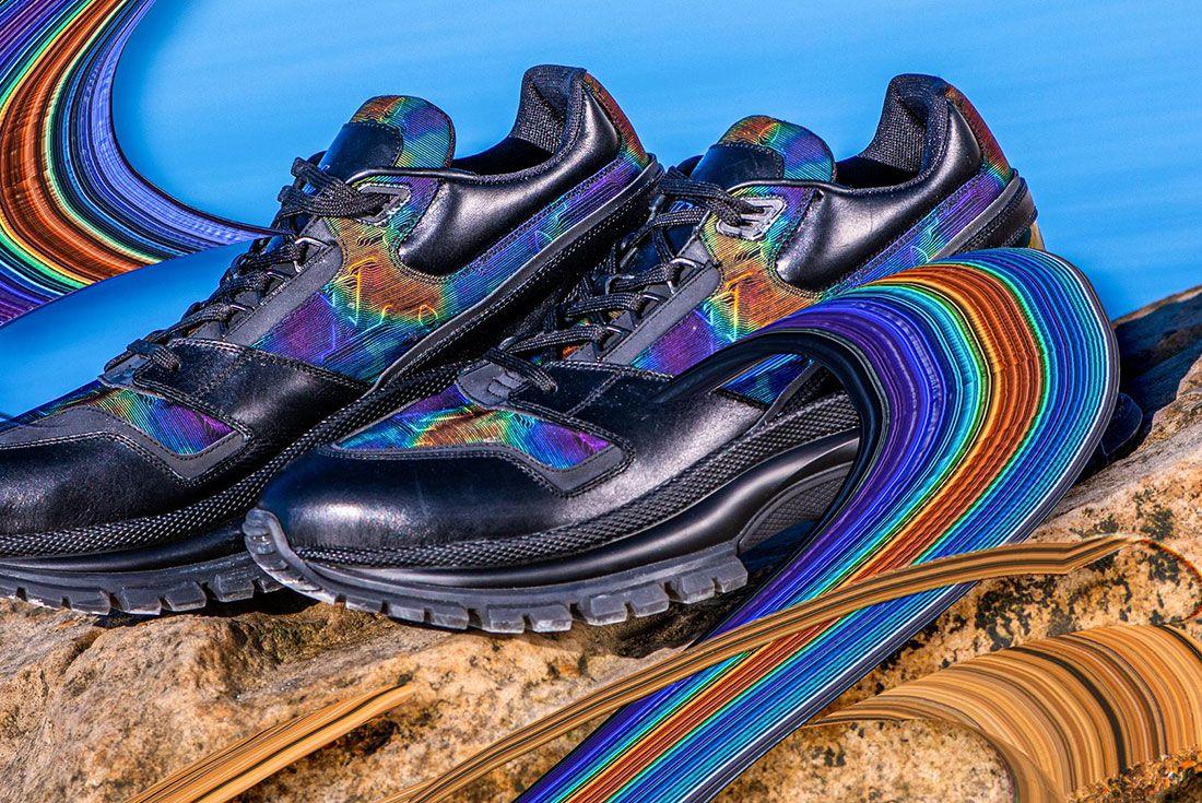 Louis Vuitton 2054 Low Sneaker Lateral Side Shot