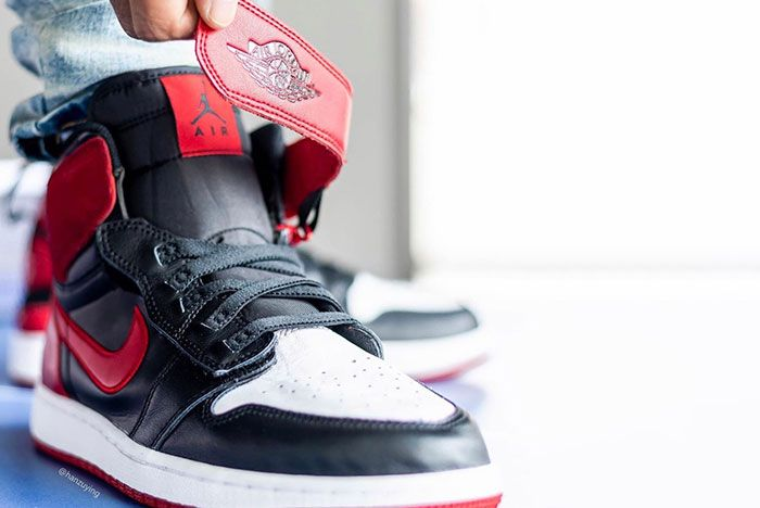 Air Jordan 1 Fly Ease Gym Red Cq3835 001 Release Date 1 On Foot