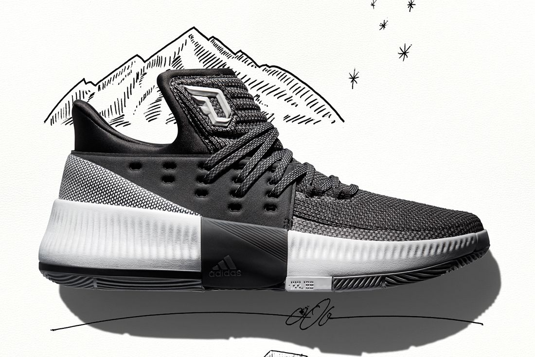 Adidas Dame 3 Wasatch Front 2