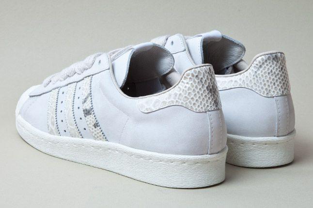 Adidas Consortium Shelltoe Snake Grey 3 1
