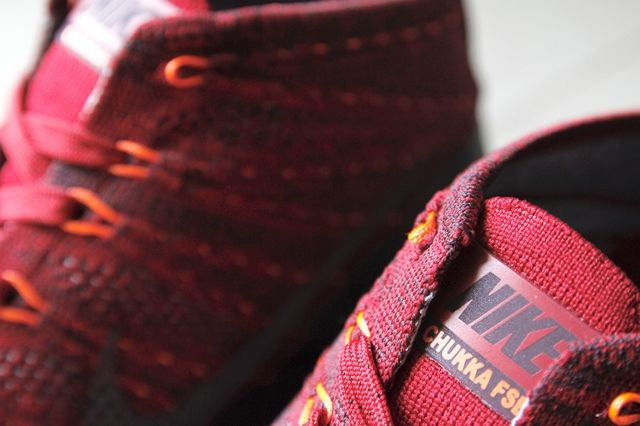 Nike Flyknit Trainer Chukka Fsb University Red 4