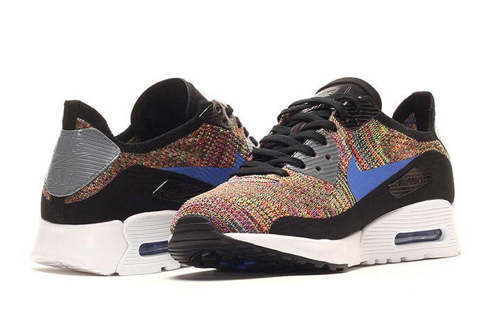 Nike Air Max 90 Flyknit Rainbow Multi 2