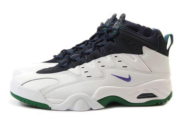 Nike Air Flare Persian Violet Green 1