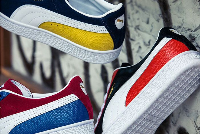 Billys Puma Suede Two Tone Airtime