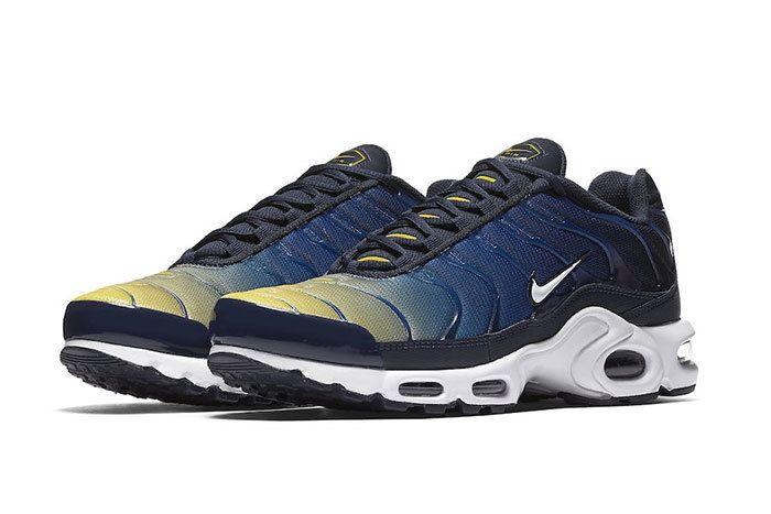 Nike Air Max Plus Gradient Blue Yellow 3