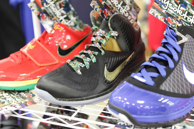 Sneaker Con New York Lebron 1