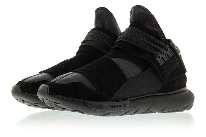 Adidas Y 3 Qasa High Triple Black 6
