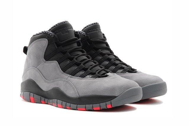 Air Jordan 10 Cool Grey Infrared 2
