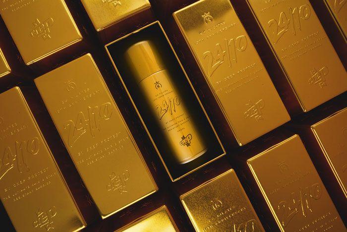 3  Crep Protect X 24 Kilates Gold Bar Collab