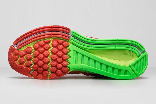 Nike Zoom Structure 19 Bright Crimson Volt 1