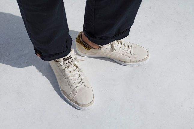 Adidas Originals Tan Spring Sneaker 1