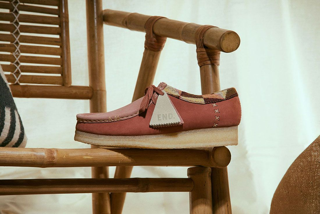 END. x Clarks Wallabee Low