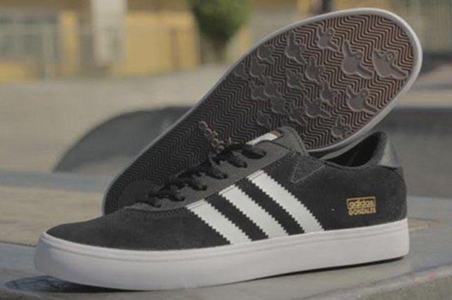 Adidas Gonzales Black White Thumb
