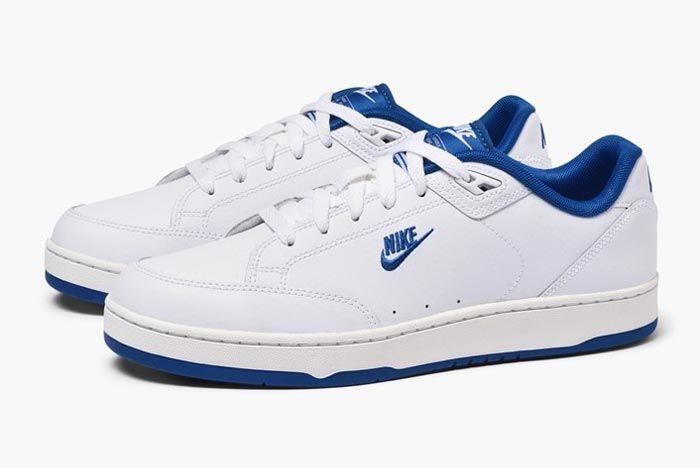 Nike Grandstand Ii Navy Blue Pair