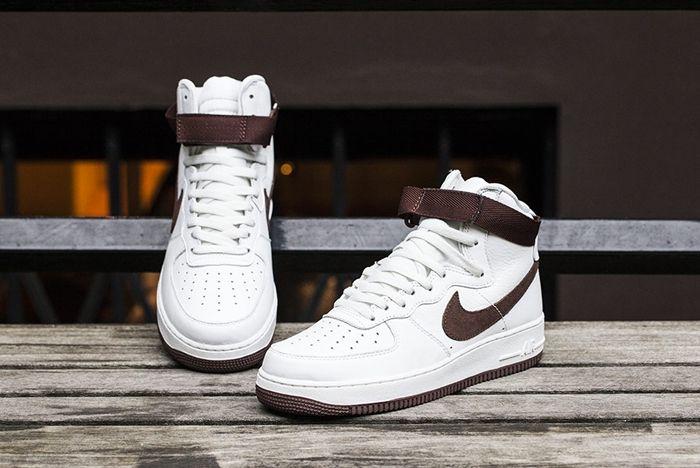 Nike Af1 High White Chocolate Fp Bumper 3