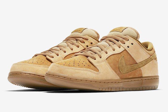 Nike Sb Dunk Low Reverse Wheat Forbes5