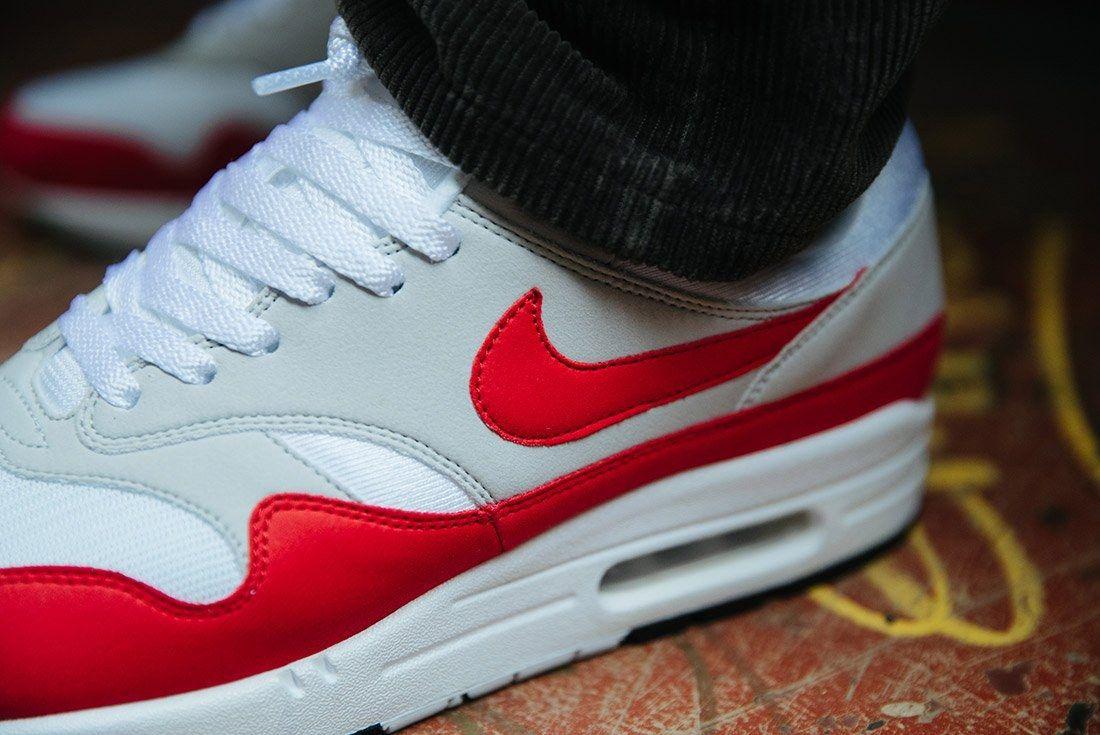 Nike Air Max 1 Anniversary Og Red White 16