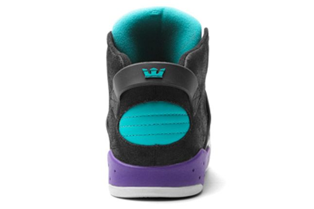 Supra Skytop Iii Black Purple Heel 1
