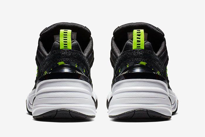 Nike M2K Tekno Pixel Camo Heel
