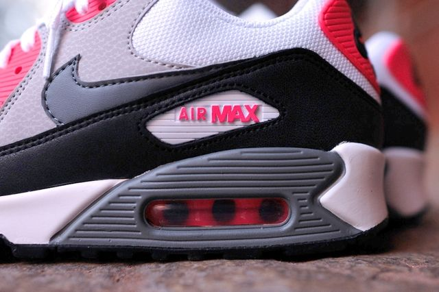 Nike Air Max 90 Essential Cl Grey Infrared 3