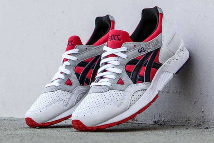 Asics Gel Lyte V Poppy Red 2