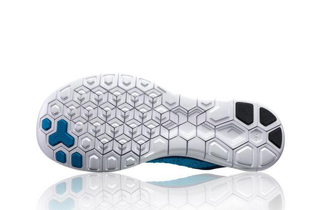Nike Free Flyknit 4 Blu Sole