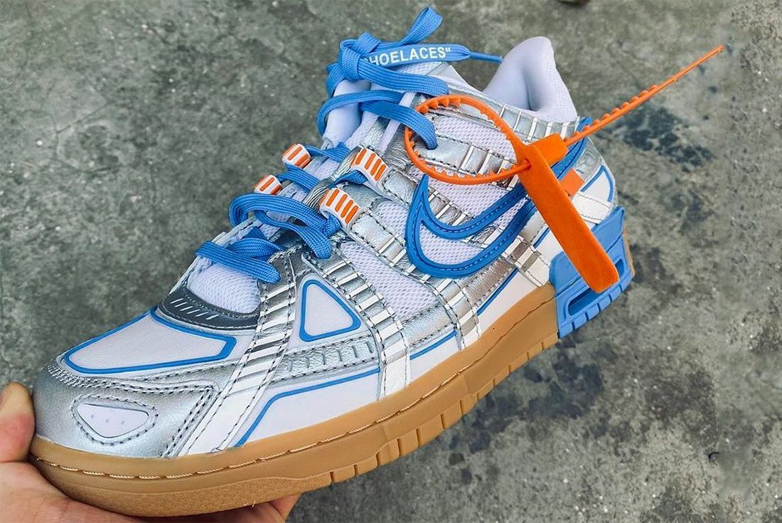 x Nike Air Rubber Dunk 'University Blue