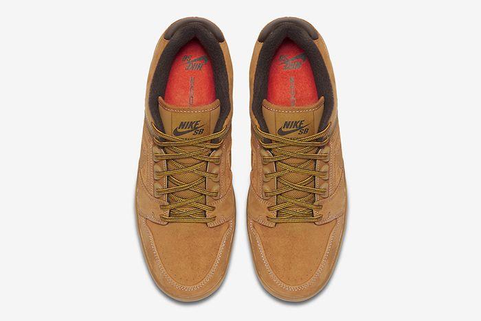 Nike Sb Air Force 2 Low Wheat 2