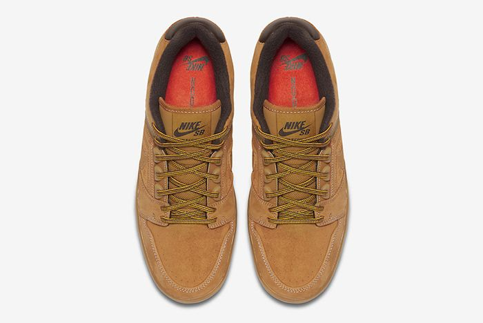 Nike Sb Air Force 2 Low Wheat 2