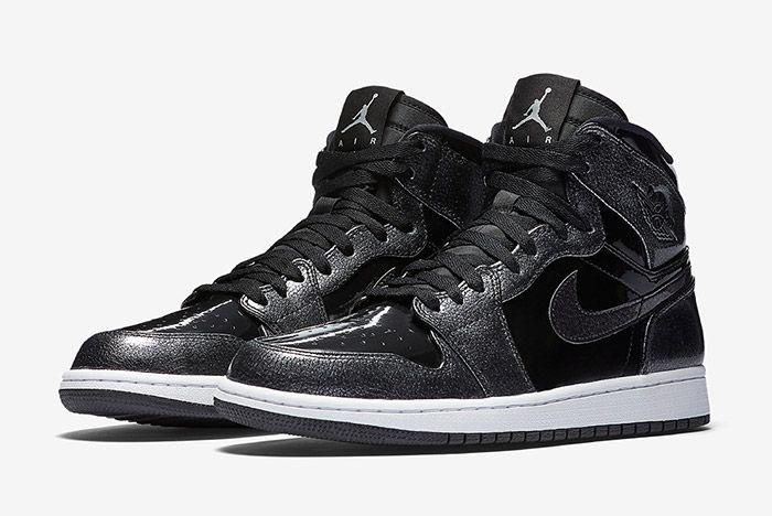 Air Jordan 1 Black Patent 6