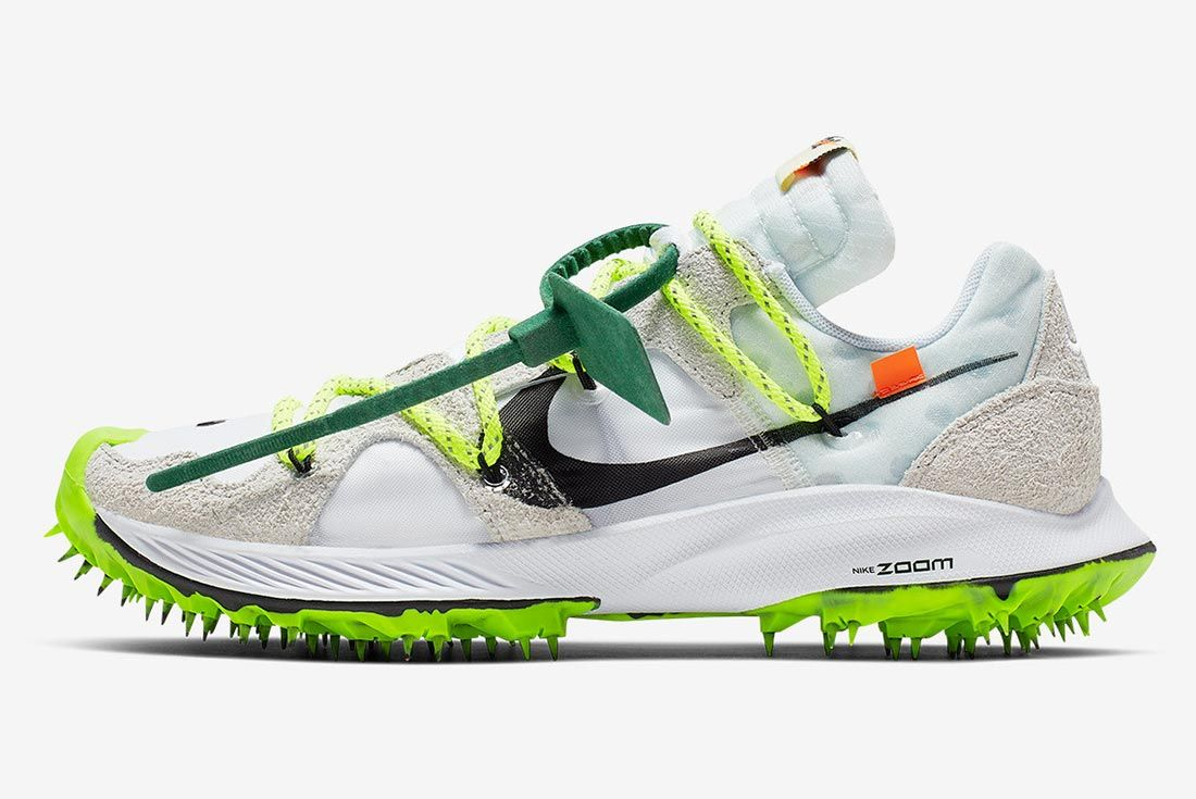Off White Nike Zoom Terra Kiger 5 White Cd8179 100 Lateral Side Shot