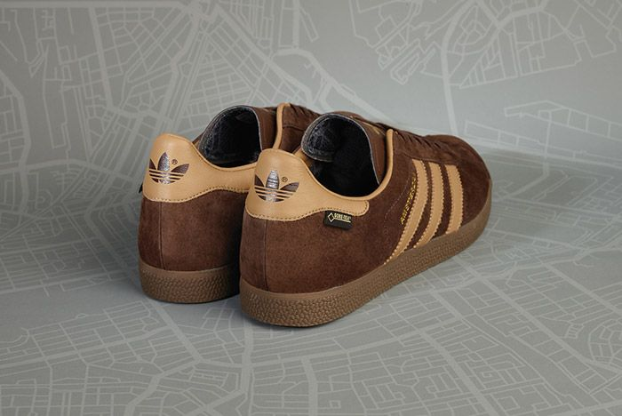 Size Adidas Gazelle Gtx Amsterdam Brown 3