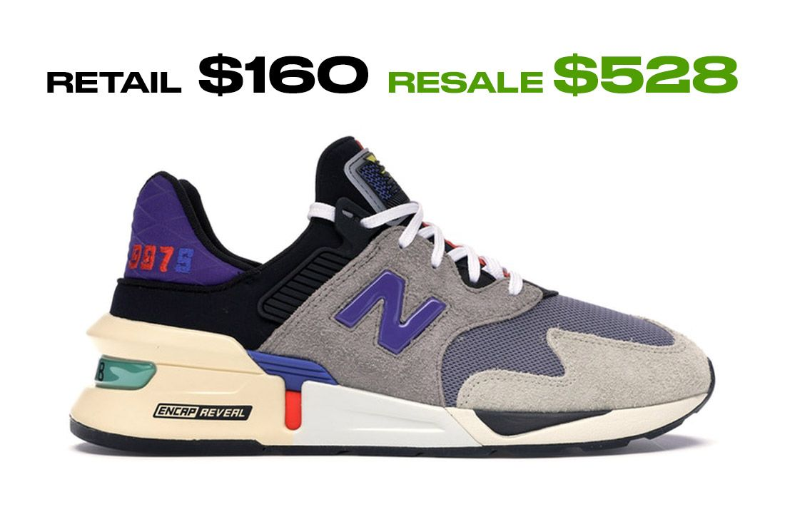 Stockx Resale Bodeg New Balance 997S Side Shot