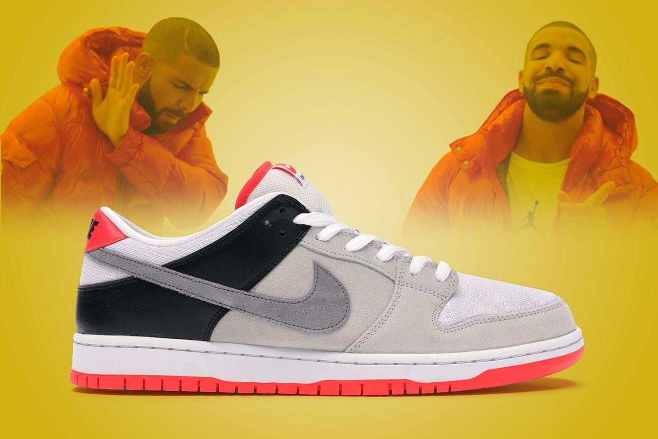 Drake Nike Dunk Infrared