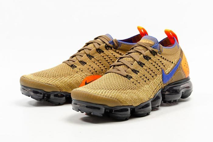 Nike Air Vapormax Flyknit Golden Beige 5