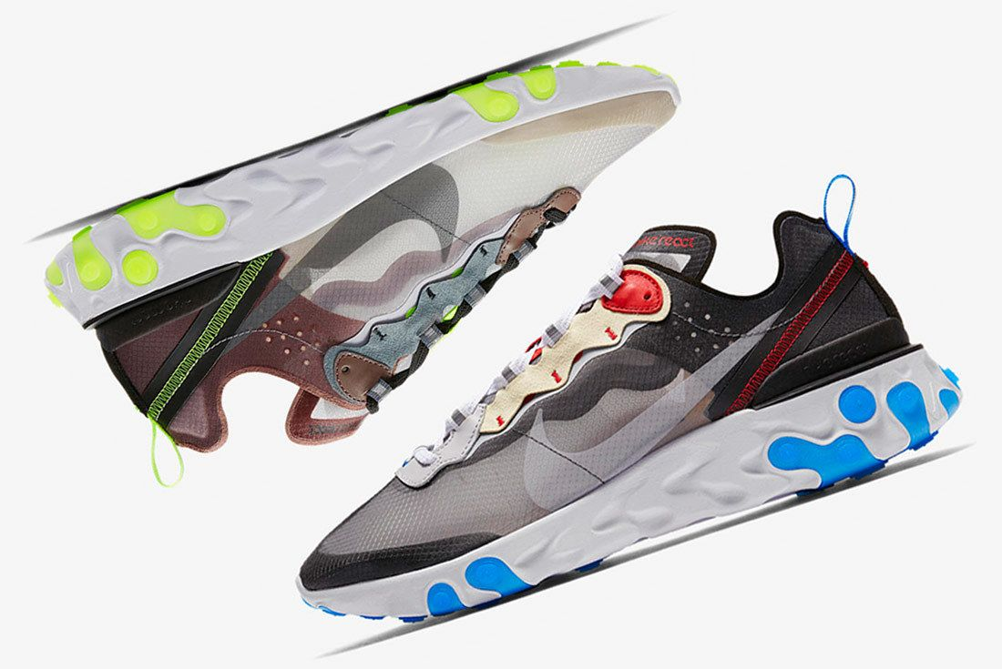 Nike React Element 87 New Colourways 1